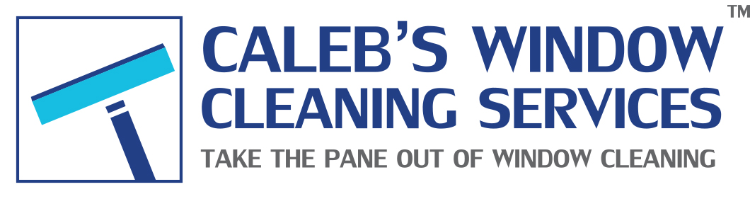 Caleb Window Cleaning Services Logo